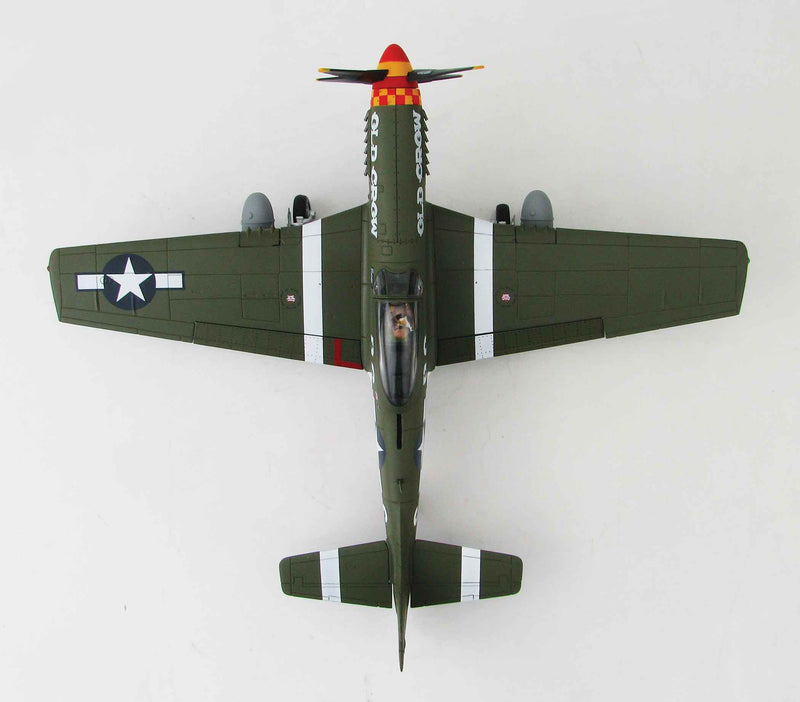 "North American P-51D Mustang Capt. Bud Anderson's ""Old Crow"" 1:48 Scale Diecast Model By Hobby Master"