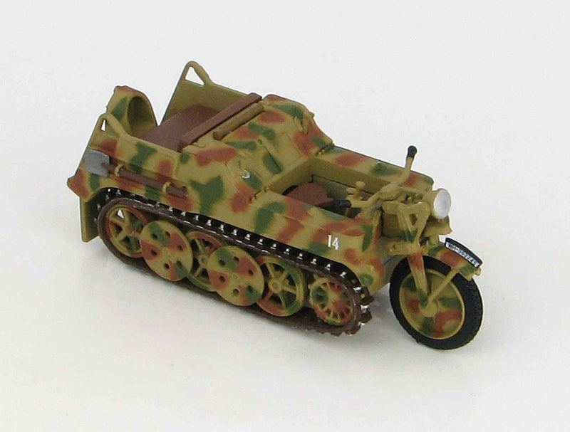 Sd. Kfz. 2 Kleines Kettenkrafrad 1942 1:48 Scale Diecast Model By Hobby Master Right Front View