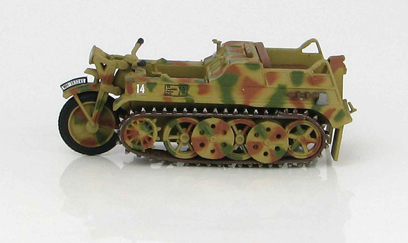 Sd. Kfz. 2 Kleines Kettenkrafrad 1942 1:48 Scale Diecast Model By Hobby Master Left Side View