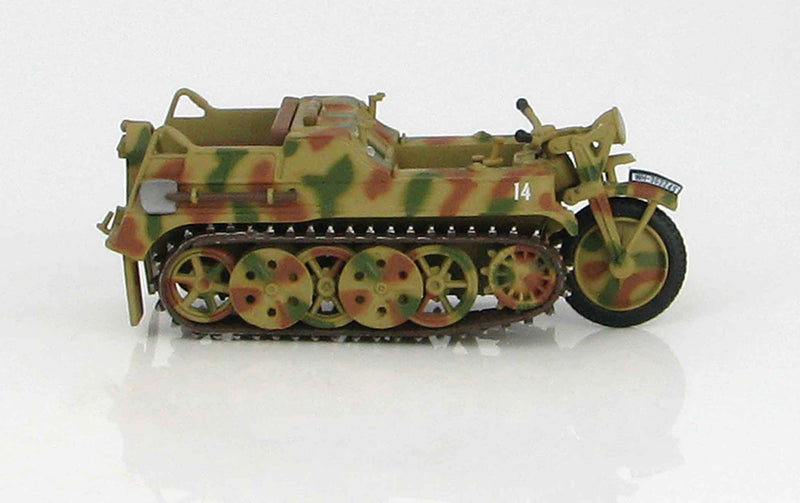 Sd. Kfz. 2 Kleines Kettenkrafrad 1942 1:48 Scale Diecast Model By Hobby Master Right Side View