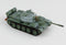 T-55 Medium Tank Soviet Army 1970's Winter Camouflage 1:72 Scale Diecast Model By Hobby Master Right Front View