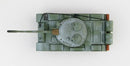 T-55 Medium Tank Soviet Army 1970's Winter Camouflage 1:72 Scale Diecast Model By Hobby Master Top View