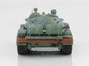 T-55 Medium Tank Soviet Army 1970's Winter Camouflage 1:72 Scale Diecast Model By Hobby Master Rear View