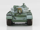 T-55 Medium Tank Soviet Army 1970's Winter Camouflage 1:72 Scale Diecast Model By Hobby Master Front View