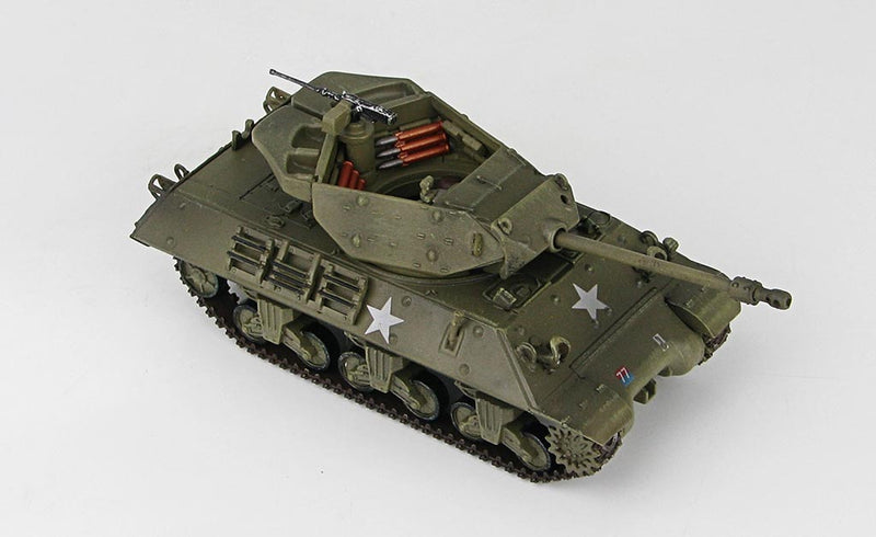 "M10 ""Achilles"" IIc 1:72 Scale Diecast Model By Hobby Master Right Front View"