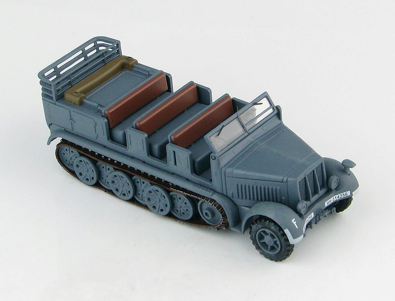 Sd.KFz. 7 8-Ton Half-track German 10th Infantry Division 1942 1:72 Scale Diecast Model By Hobby Master