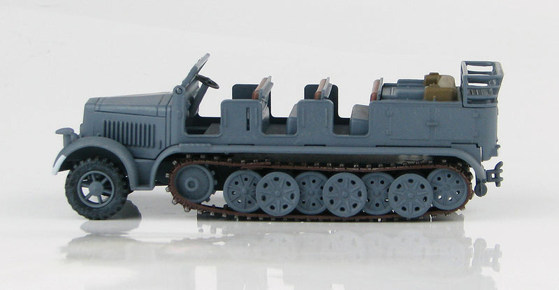 Sd KFz 7 8-Ton Half Track 1942 1/72 Scale Model By Hobby Master Left Side View