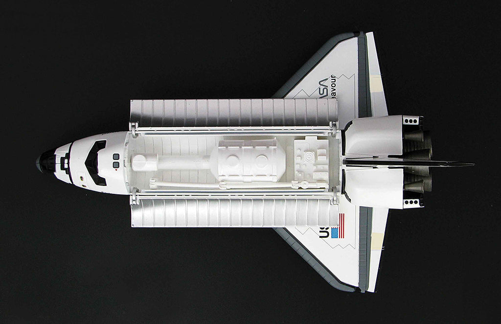 Space Shuttle Endeavour 1/200 Scale Model By Hobby Master Top View
