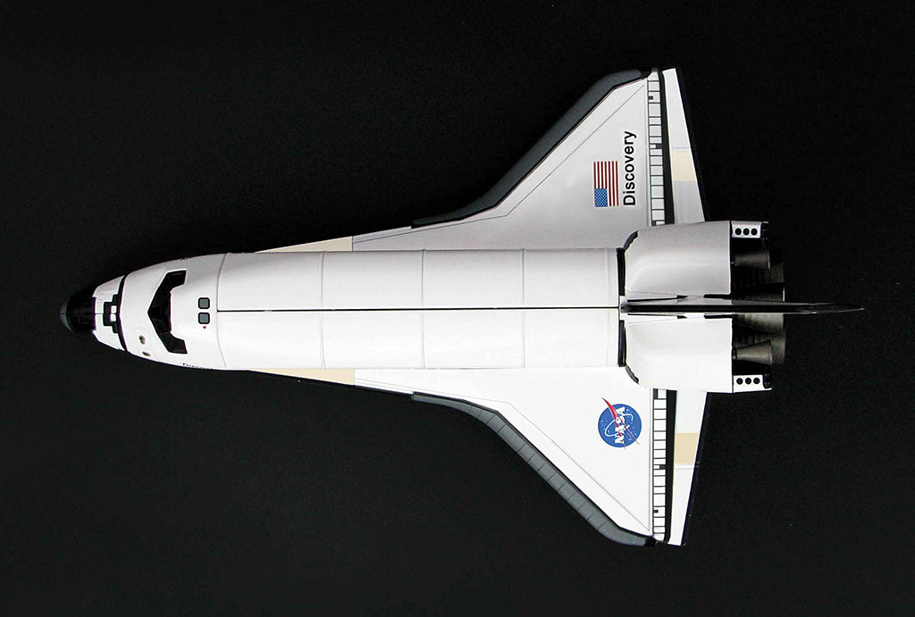 Space Shuttle Discovery 1/200 Scale Model By Hobby Master Top View