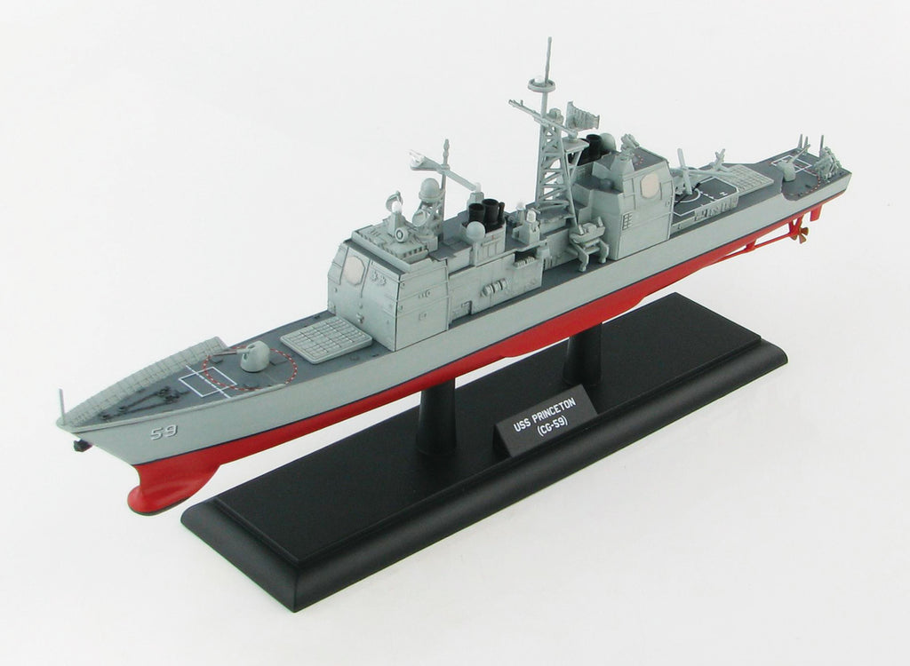 US Navy Guided Missile Cruiser USS Princeton CG-59, 1:700 Scale Model By Hobby Master