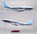 Boeing 747-400  1:150 Scale Model With LED Light By Hyinuo Dimensions