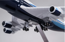 Boeing 747-400  1:150 Scale Model With LED Light By Hyinuo Landing Gear Close Up