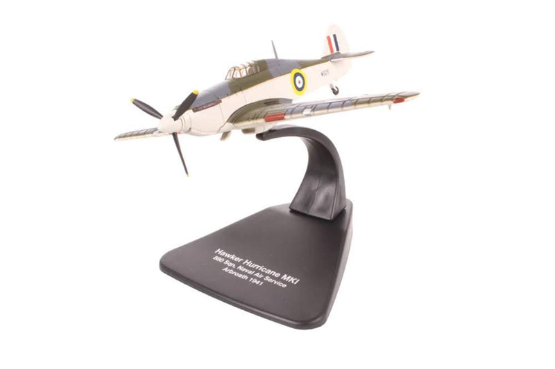 Hawker Sea Hurricane Mk 1, 1:72 Scale Model By Oxford Diecast Left Front View