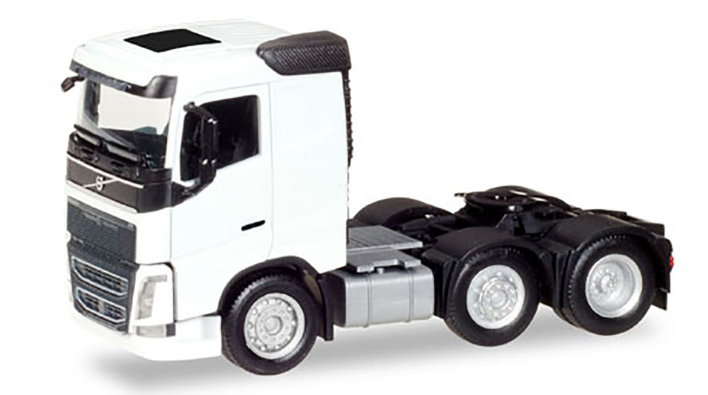 Volvo FH 6 x 2 Truck (White) 1:87 Scale (HO) Model By Herpa