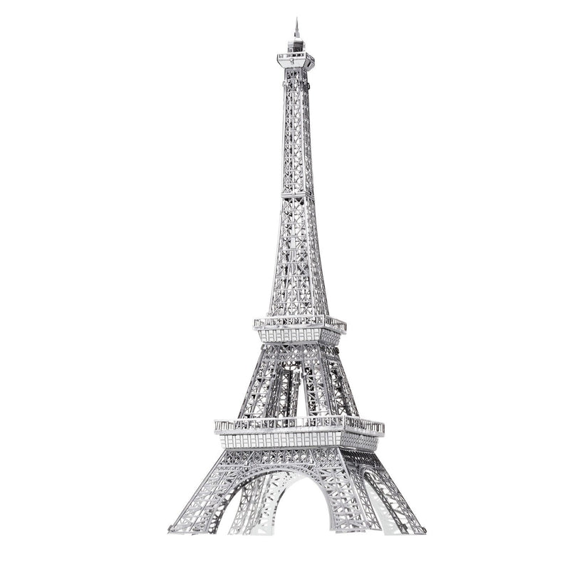 Eiffel Tower Metal Earth Iconx Model Kit By Fascinations