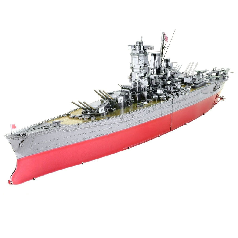 IJN Yamato Battleship Metal Earth Iconx Model Kit By Fascinations