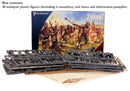 Zulus 28 mm Scale Model Plastic Figures By Perry Miniatures