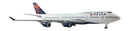 Boeing 747-400 N674US Delta Airlines 1:500 Scale Model By Herpa