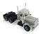 Peterbilt  Short Grill Tandem Axle Day Cab Tractor (Unpainted)1:87 (HO) Scale Model By Promotex Right Front View