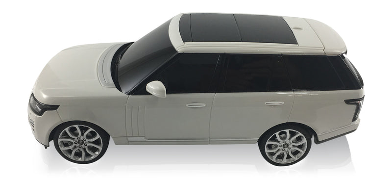 Land Rover Range Rover Sport 2013 (White) 1/24 Scale Radio Controlled Model Car By Rastar Left Side View