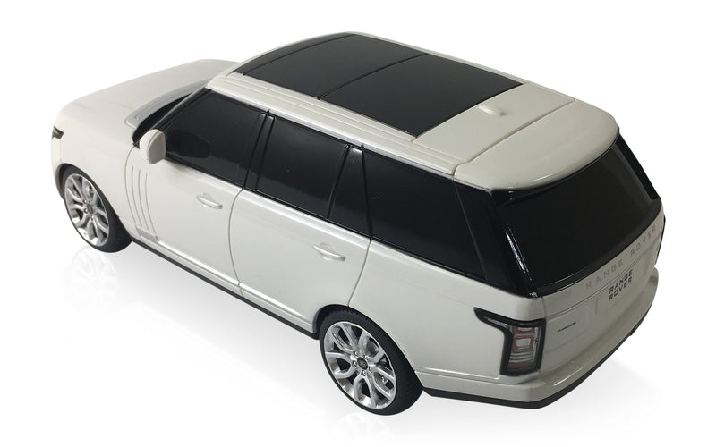 Land Rover Range Rover Sport 2013 (White) 1/24 Scale Radio Controlled Model Car By Rastar Left Rear View