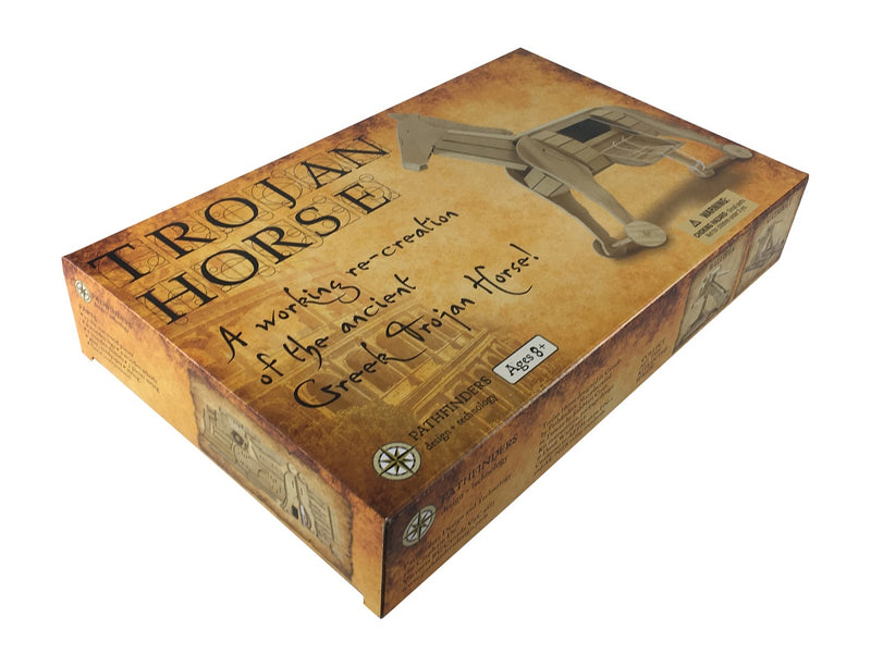 Trojan Horse Wooden Kit By Pathfinders Design Box