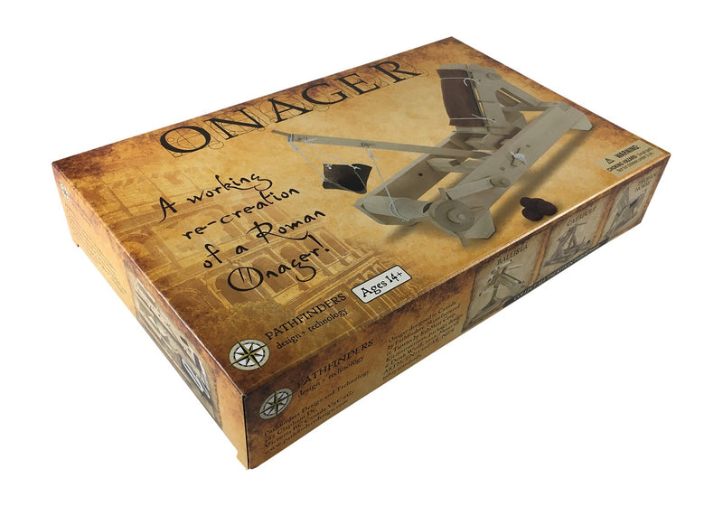Roman Onager Wooden Kit Box