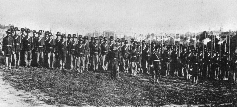 7th Wisconsin Volunteer Infantry Regiment, Company I, of the Iron Brigade, in Virginia, 1862