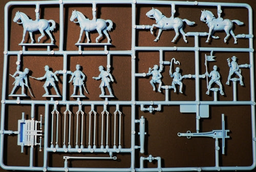 American Civil War Union Artillery, 1/72 Scale Plastic Figures Kit Sprue Example
