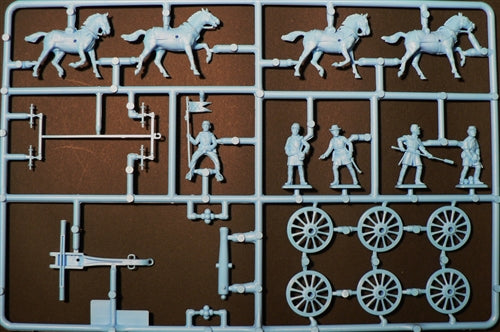 American Civil War Union Artillery, 1/72 Scale Plastic Figures Kit Sprue