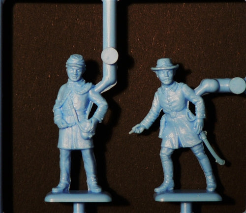American Civil War Union Artillery, 1/72 Scale Plastic Figures Kit Figure Detail