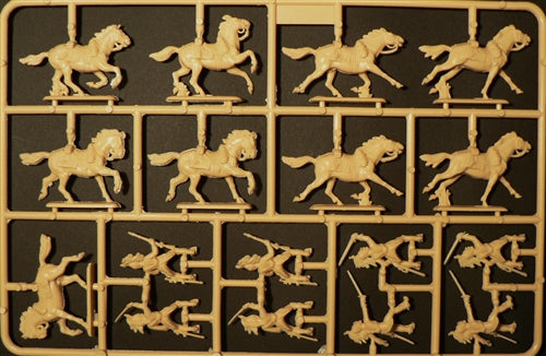 Napoleonic War French Dragoons 1805 - 1815 1/72 Scale Plastic Figures Sprue