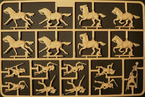Napoleonic War French Dragoons 1805 - 1815 1/72 Scale Plastic Figures Sprue 2
