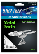 Star Trek USS Enterprise NCC-1702 Metal Earth 3D Model Kit Package Front