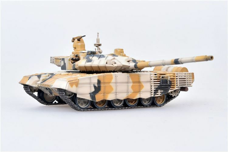 "T-90MS ""Tagil"" Main Battle Tank Russian Army Desert Camouflage 2014 1:72 Scale Diecast Model By Modelcollect Left Side View"