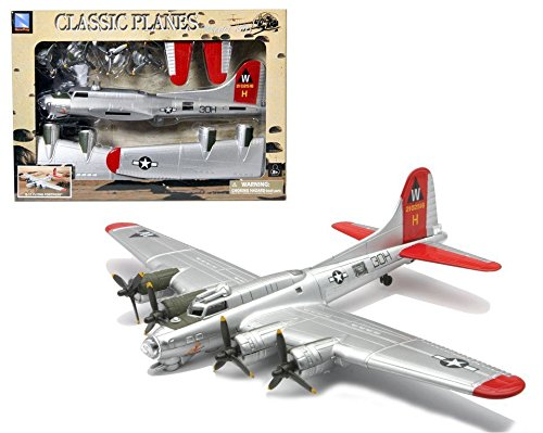 Boeing B-17 Flying Fortress EZ Build Model Kit By New Ray