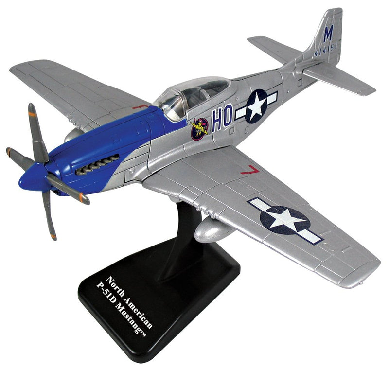 North American P-51D Mustang EZ Build Model Kit By New Ray