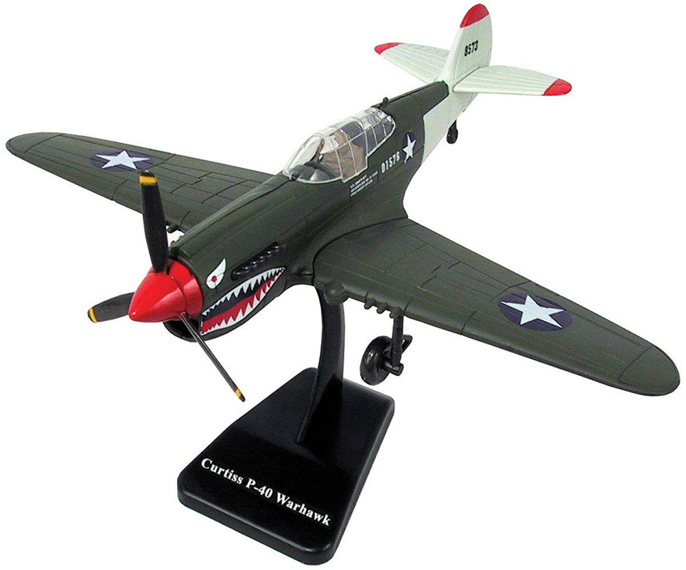 Curtiss P-40 Warahwk EZ Build Model Kit By New Ray