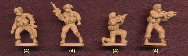 Modern Israel Army Set #1, 1/72 Scale Model Figures By Orion