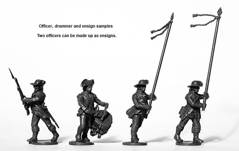 Perry Miniatures British Infantry 1775-1782 (28mm) Plastic Figures Kit Officers