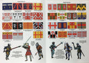 Agincourt Foot Knights 1415-1429, 28 mm Model Plastic Figures Kit By Perry Miniatures Guide Page 2 & 3