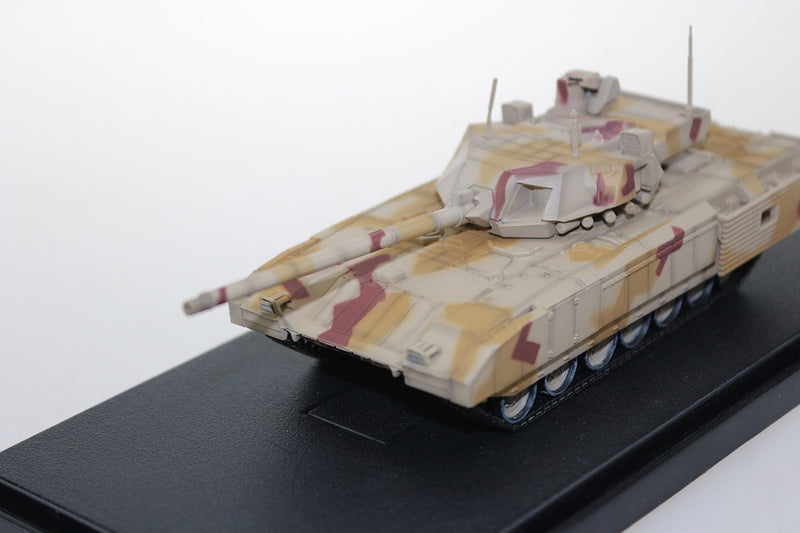 T-14 Armata Main Battle Tank Russian Army 1:72 Scale Diecast Model By Panzerkampf Left Front View