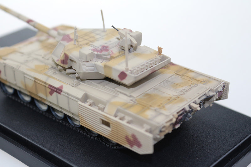 T-14 Armata Main Battle Tank Russian Army 1:72 Scale Diecast Model By Panzerkampf Left Rear View