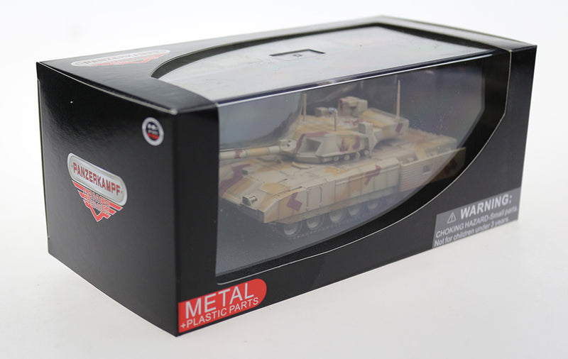 T-14 Armata Main Battle Tank Russian Army 1:72 Scale Diecast Model By Panzerkampf In Box
