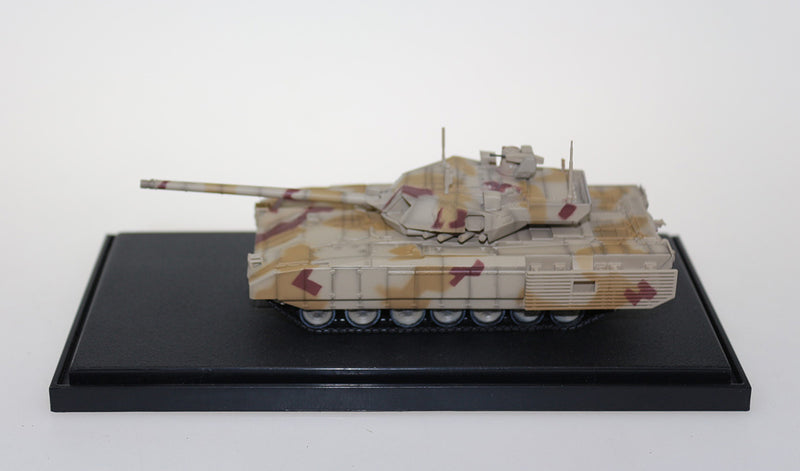 T-14 Armata Main Battle Tank Russian Army 1:72 Scale Diecast Model By Panzerkampf Side View