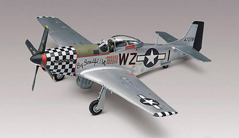 North American P-51 Mustang 1/48 Scale Model Kit