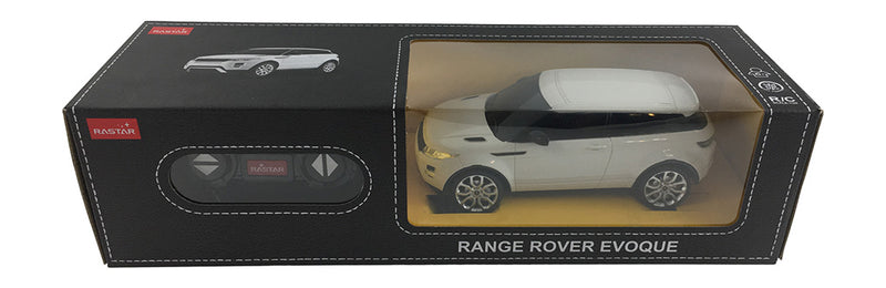 Rastar Land Rover Range Rover Evoque (White) 1/24 Scale RC Car