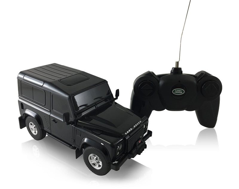 Rastar Land Rover Defender (Black) 1/24 Scale RC Model
