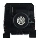 Rastar Land Rover Defender (Black) 1/24 Scale RC Model Rear View