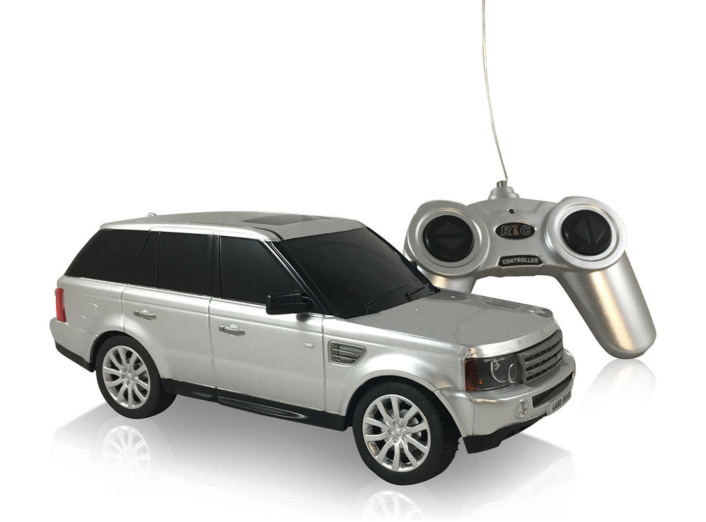 Land Rover Range Rover Sport (Silver) 1/24 Scale Radio Controlled Model Car By Rastar